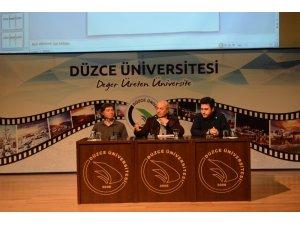 Düzce Üniversitesi'nde çağdaş sanatla ilgili konferans düzenlendi