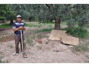 İznik'te Roma dönemine ait oda mezar bulundu