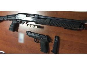 Adıyaman'da asayiş uygulamasında 10 tüfek ve tabanca ele geçirildi