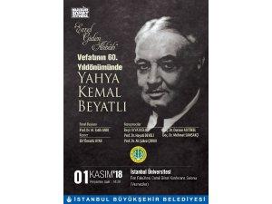 Yahya Kemal Vefatının 60. Yılında Anılıyor