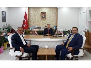 """AK Parti İl Başkanı Yumak: """"Kaymakamımız Akın, çok başarılı projelere imzasını atacaktır"""""""