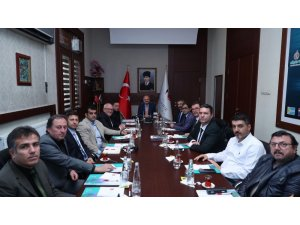 İl Spor Güvenlik Kurulu toplantısı Vali Çakacak başkanlığında yapıldı