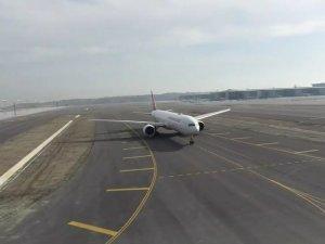 İstanbul Havalimanı'nda tarihi sefer gerçekleşti