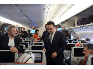 THY'nin İstanbul Havalimanı'nda ilk seferi gerçekleşti