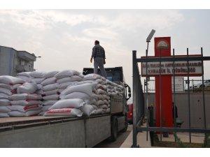 Karabük'te çiftçilere buğday tohumu dağıtımı devam ediyor