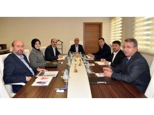 Başkanlar Selçuklu'da bir araya geldi