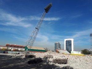 19 Mayıs Stadyumu'nun yıkımında son aşamaya gelindi