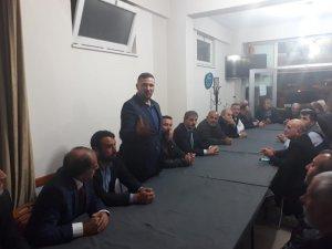 Başkan Yusuf Alemdar, Gümüşhaneliler Derneği'ne misafir oldu