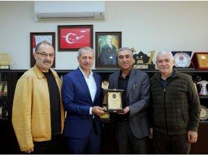 Muhtar Necdet Kabasakaloğlu, Başkan Dişli'yi ziyaret etti