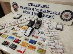 Kahramanmaraş'ta kredi kartı tefecilerine operasyon: 3 gözaltı