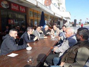 Başkan Yemenici, esnaflarla bir araya geldi