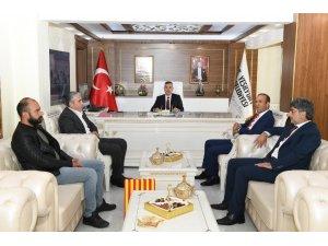 Başkan Çınar Evkur Yeni Malatyaspor yönetimini ağırladı