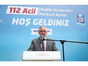 Eyüpsultan'da 5'inci 112 Acil Sağlık İstasyonu açıldı