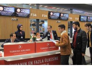 İstanbul Havalimanı'nın ilk dış hat seferi Kıbrıs'a