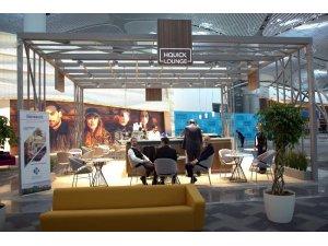HKÜ'nün kendi markası dünyanın en büyük havalimanında