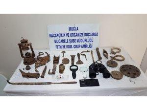 Fethiye merkezli tarihi eser operasyonu: 7 gözaltı