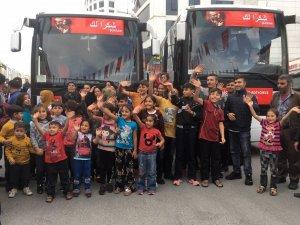 Suriyelilerin memleketlerine dönüşü devam ediyor