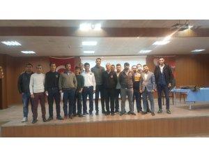 Kulp'ta, okullarda görevli özel güvenlik görevlileri eğitime alındı