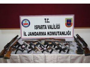 Isparta'da maganda operasyonu: 31 gözaltı
