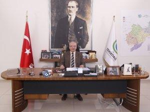 """Başkan Albayrak: """"1 Kasım Çorlu, Ergene ve Saray'ın kurtuluş bayramı kutlu olsun"""""""