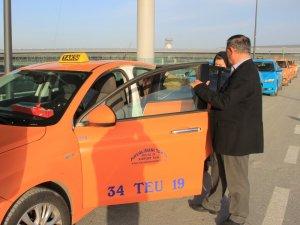 İstanbul Havalimanı'nda taksiciler bedava yolcu taşıdı