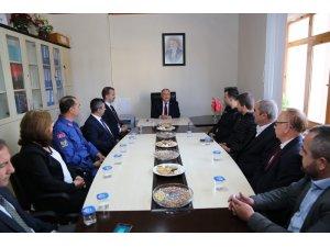 Kütahya Valisi Ahmet Hamdi Nayir'den Pazarlar'a veda