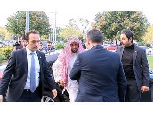 Suudi Başsavcı Suud El Muceb, İstanbul'dan ayrıldı