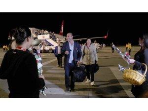 İstanbul Havalimanı'ndan kalkan ilk yurtdışı seferi tamamlandı