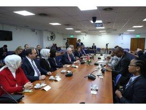 TBMM Başkanı Yıldırım, Güney Afrika Ulusal Eyaletler Konseyi Başkanı ile görüştü