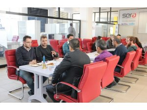 Erciyes Teknopark'ta firmalar arası tanışma toplantısı düzenlendi