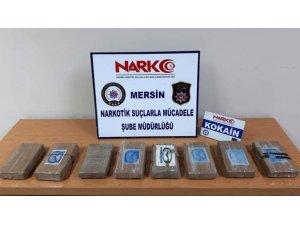 Mersin'de muz yüklü gemiden 9 kilo 400 gram kokain çıktı