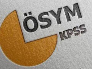 KPSS Ortaöğretim sınavı sonuçları açıklandı
