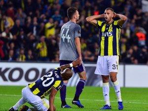 UEFA Avrupa Ligi: Fenerbahçe: 0 - Anderlecht: 0 (İlk yarı)