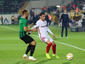 UEFA Avrupa Ligi: Akhisarspor: 0 - Sevilla: 2 (İlk yarı)