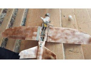 Şırnak'ta askeri bölgelere EYP bağlanmış 8 adet maket uçak düştü