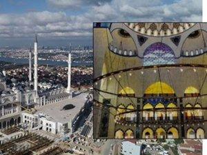 Çamlıca Camisi'ne 7 tonluk avize
