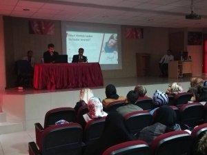 """Tatvan'da """"Bağımlılıkla mücadele"""" semineri düzenlendi"""