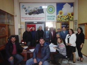 Trakya Birlik Söke Kooperatifi genel Kurulunu yaptı
