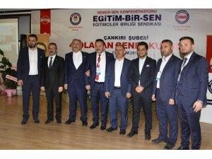 Ahmet Dönmez, Eğitim-Bir-Sen Çankırı Şube başkanı oldu