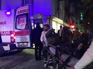 Ünye'de trafik kazası: 1 yaralı