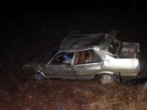 Domaniç'te trafik kazası: 1 ölü, 1 yaralı