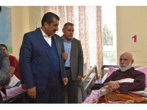 Sınırın Sıfır Noktasından Hastalara Sürpriz Ziyaret