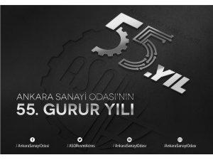Ankara Sanayi Odası'nın 55. gurur yılı