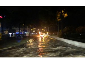 Didim'i şiddetli yağış vurdu