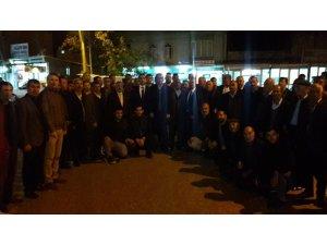 AK Parti Yavuzeli Belediye Başkan Aday Adayları Tanıtım Toplantısı