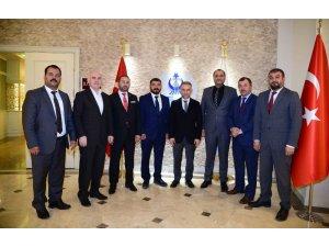 Kahramanlardan Ertürk'e anlamlı ziyaret