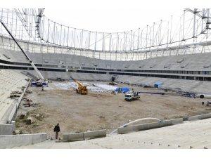 Adana Şehir Stadı inşaatı sürüyor