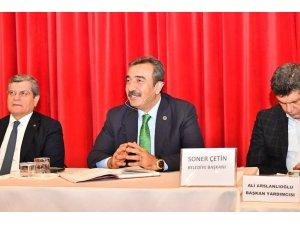 """Başkan Çetin: """"Adana'da yarım kalan her işi tamamlayacağız"""""""