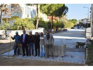 Nazilli Belediyesi yol çalışmalarında rekor kırmaya devam ediyor