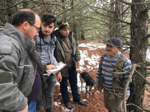 Afyonkarahisar'da kaçak avcılara ceza kesildi